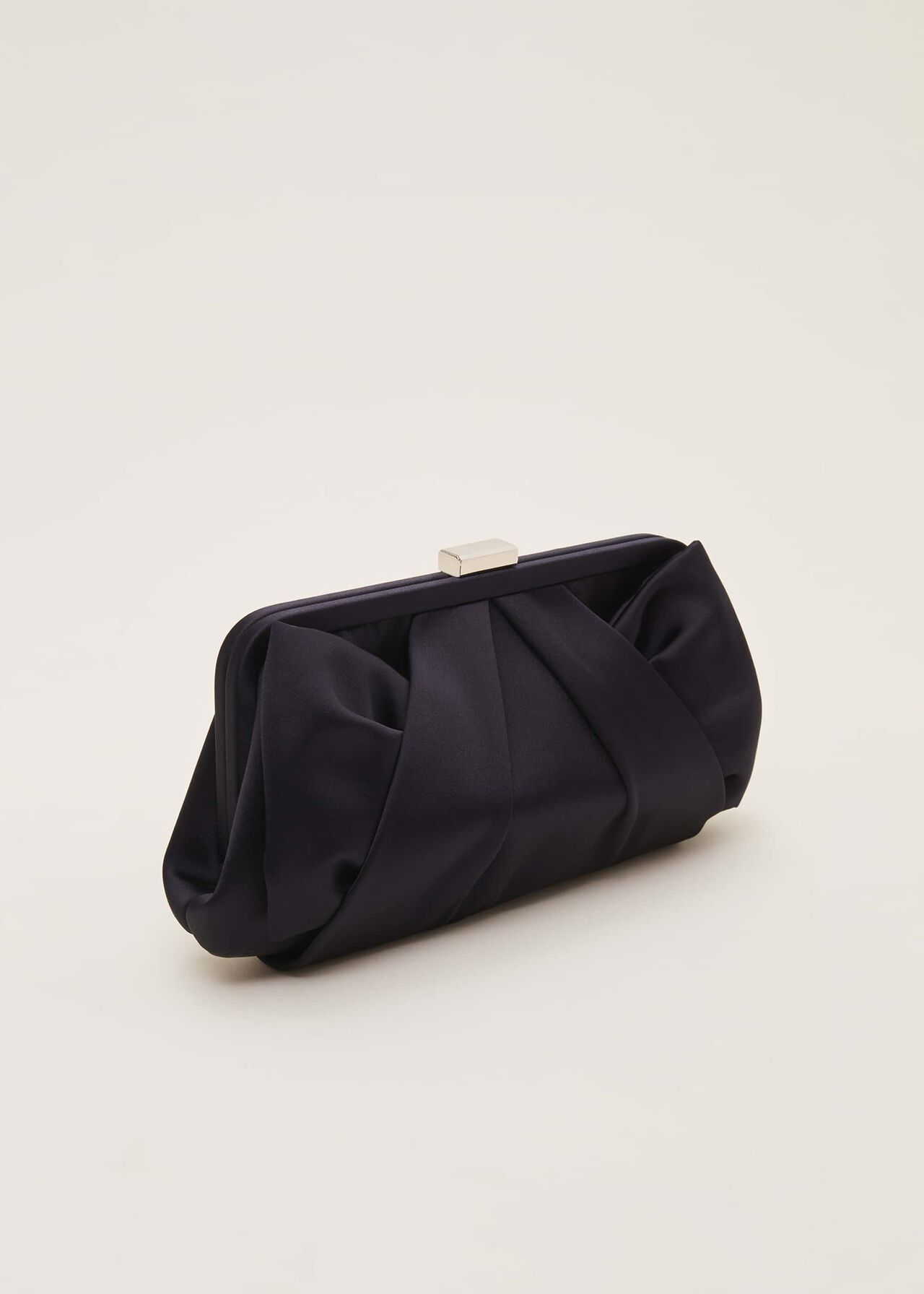 Alice Satin Clutch Bag