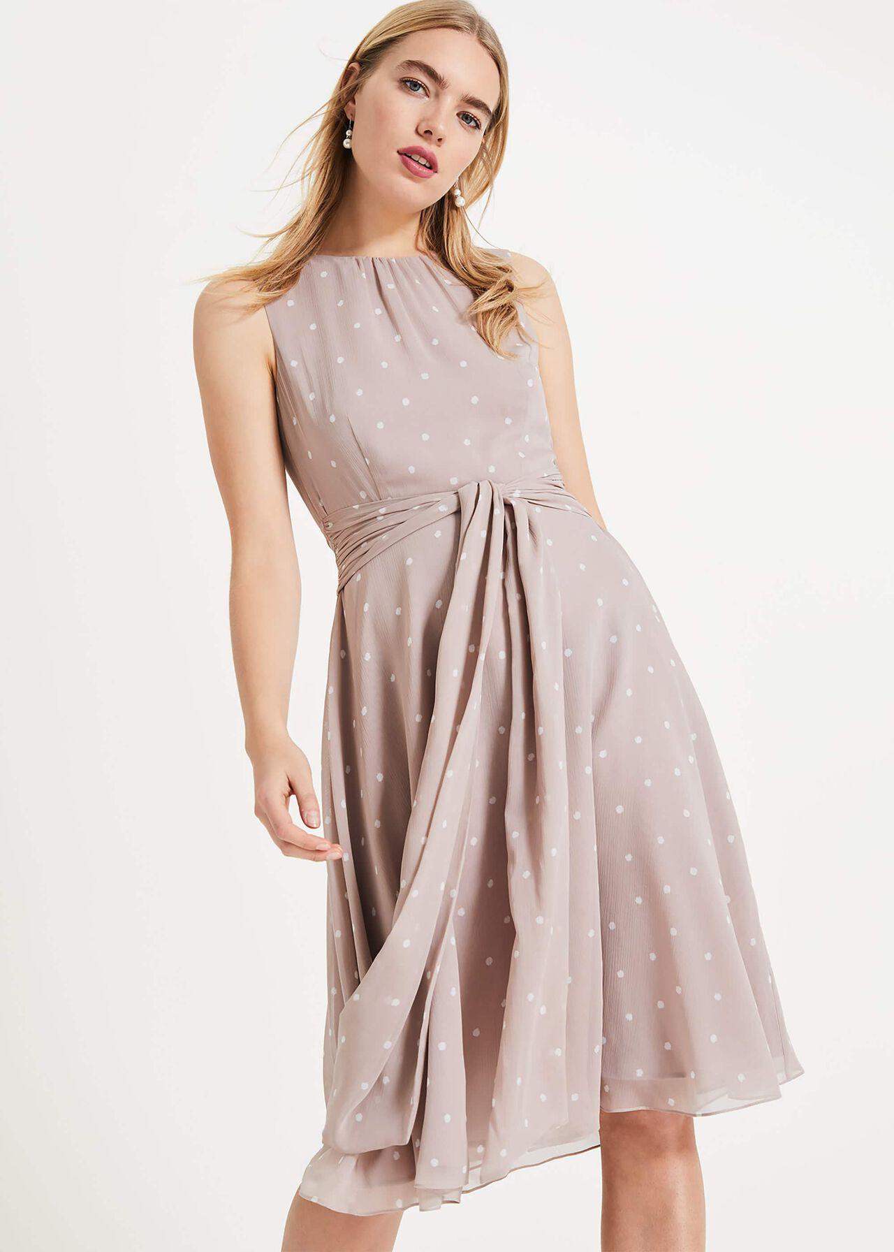 Fernanda Spot Dress