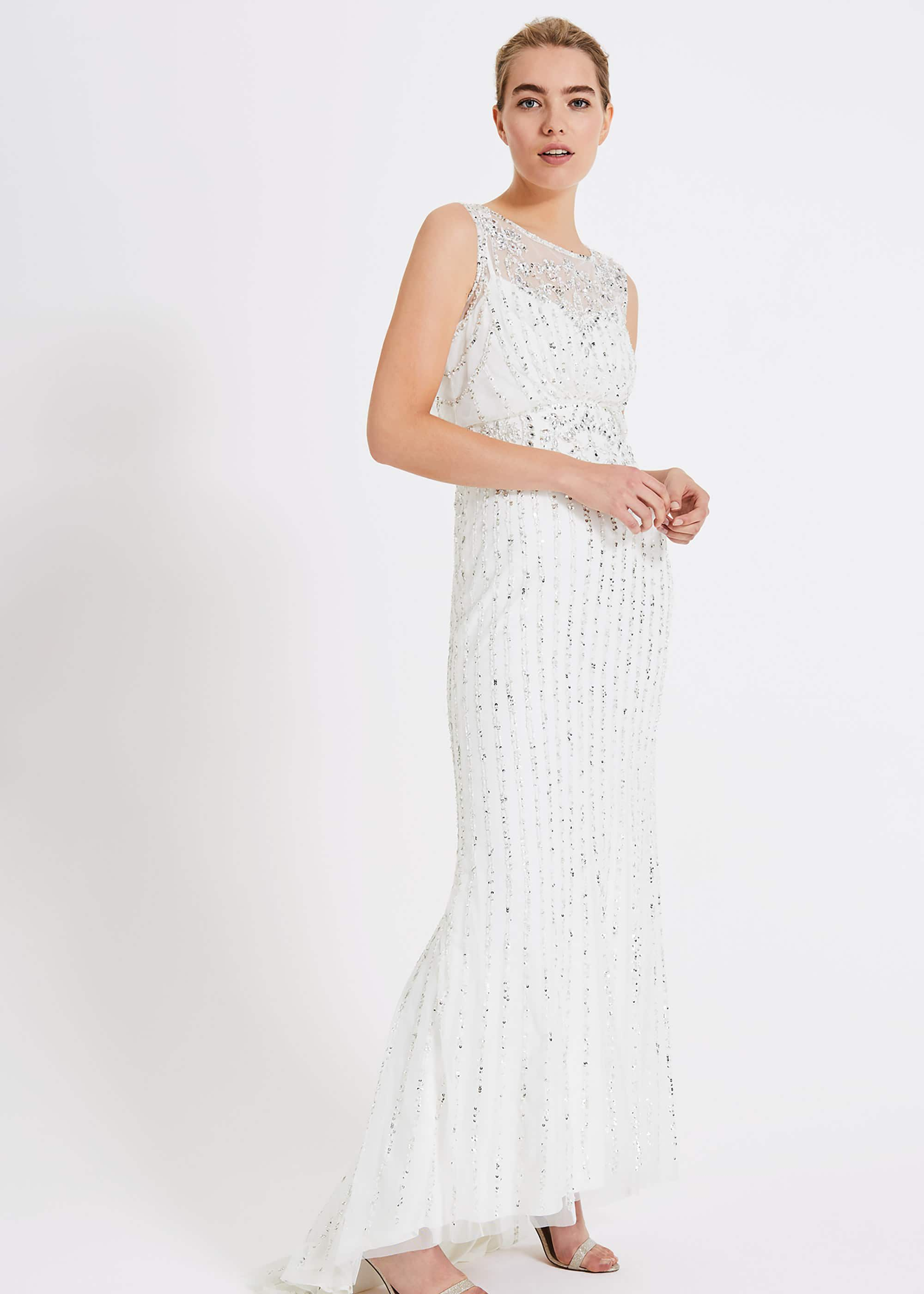 Milly Beaded Wedding Dress