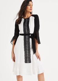 Cia Lace Belted Dress