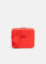 Allie Bow Clutch Bag
