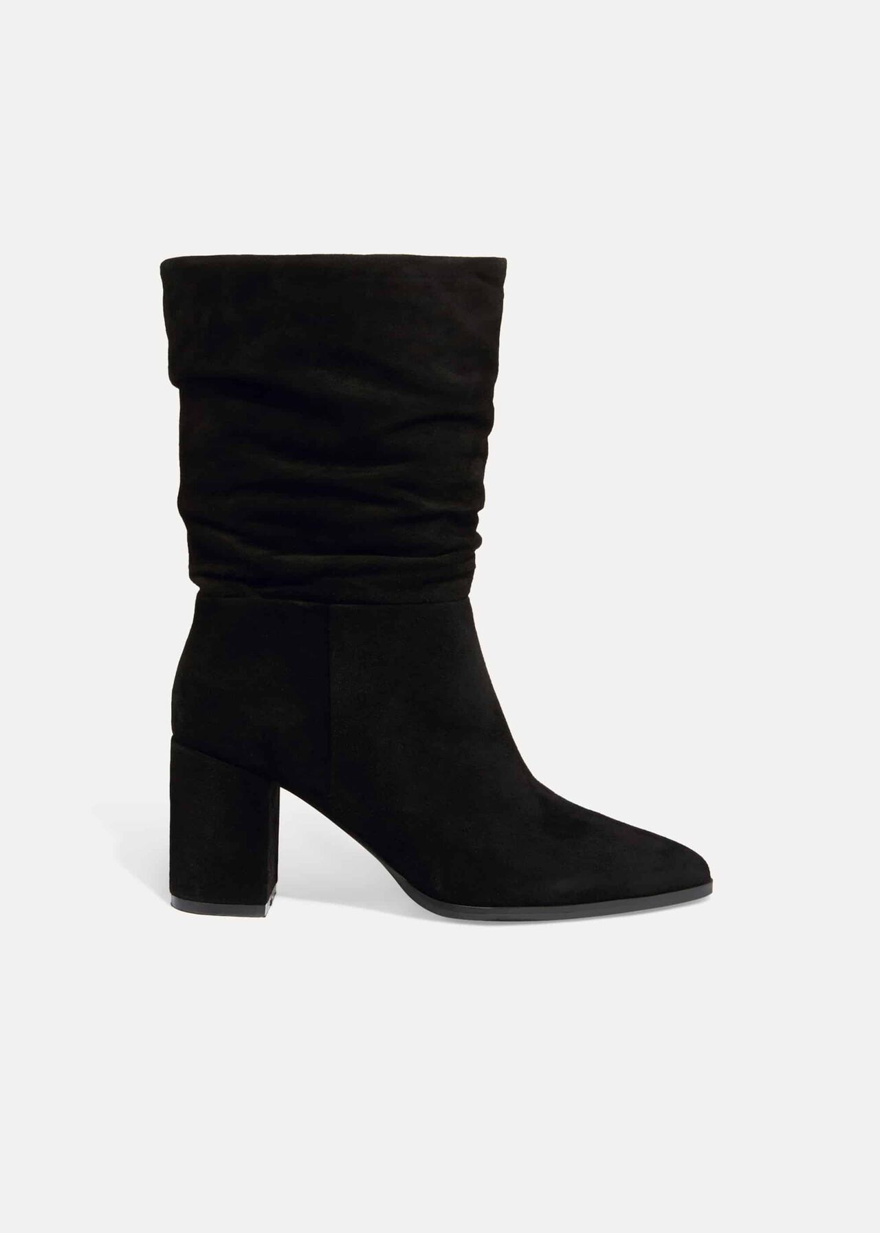 Sacha Suede Slouch Boot
