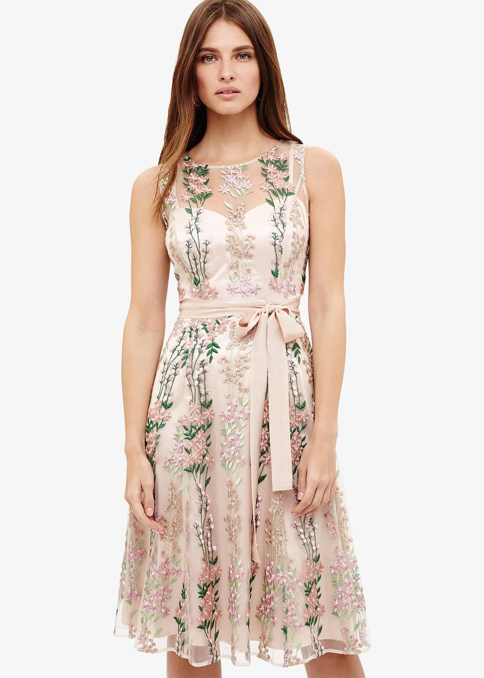 SCAM 32 Women Designer Inspired Embroidery dress