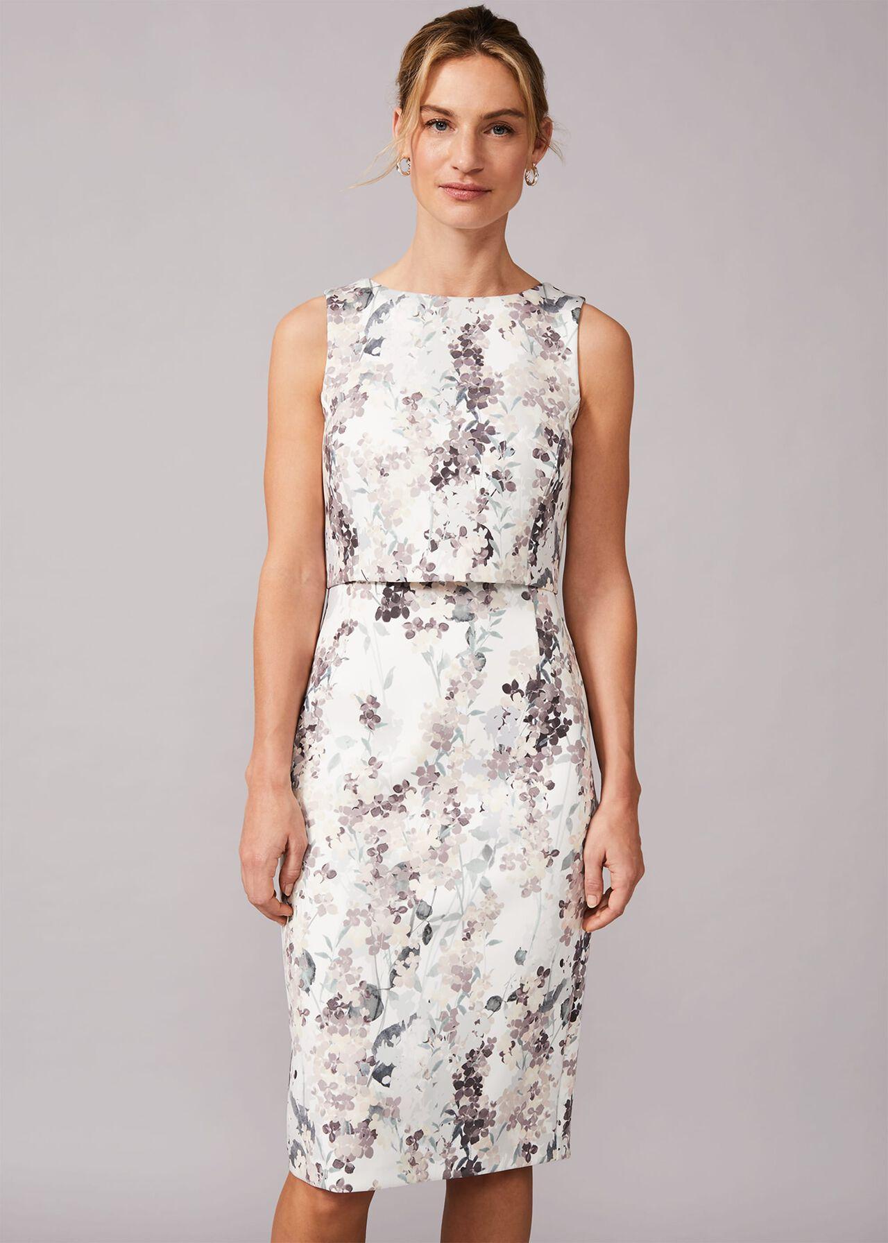 Violetta Double Layered Scuba Dress Phase Eight,Summer Wedding Dresses Guest 2020