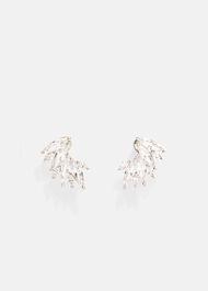 Mika Stone Cluster Stud Earrings