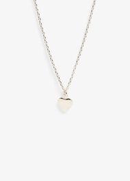 Jana Heart Charm Necklace