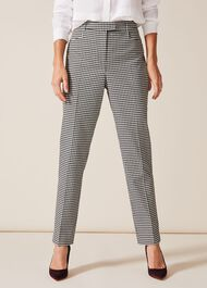 Ridley Dogtooth Tapered Trousers