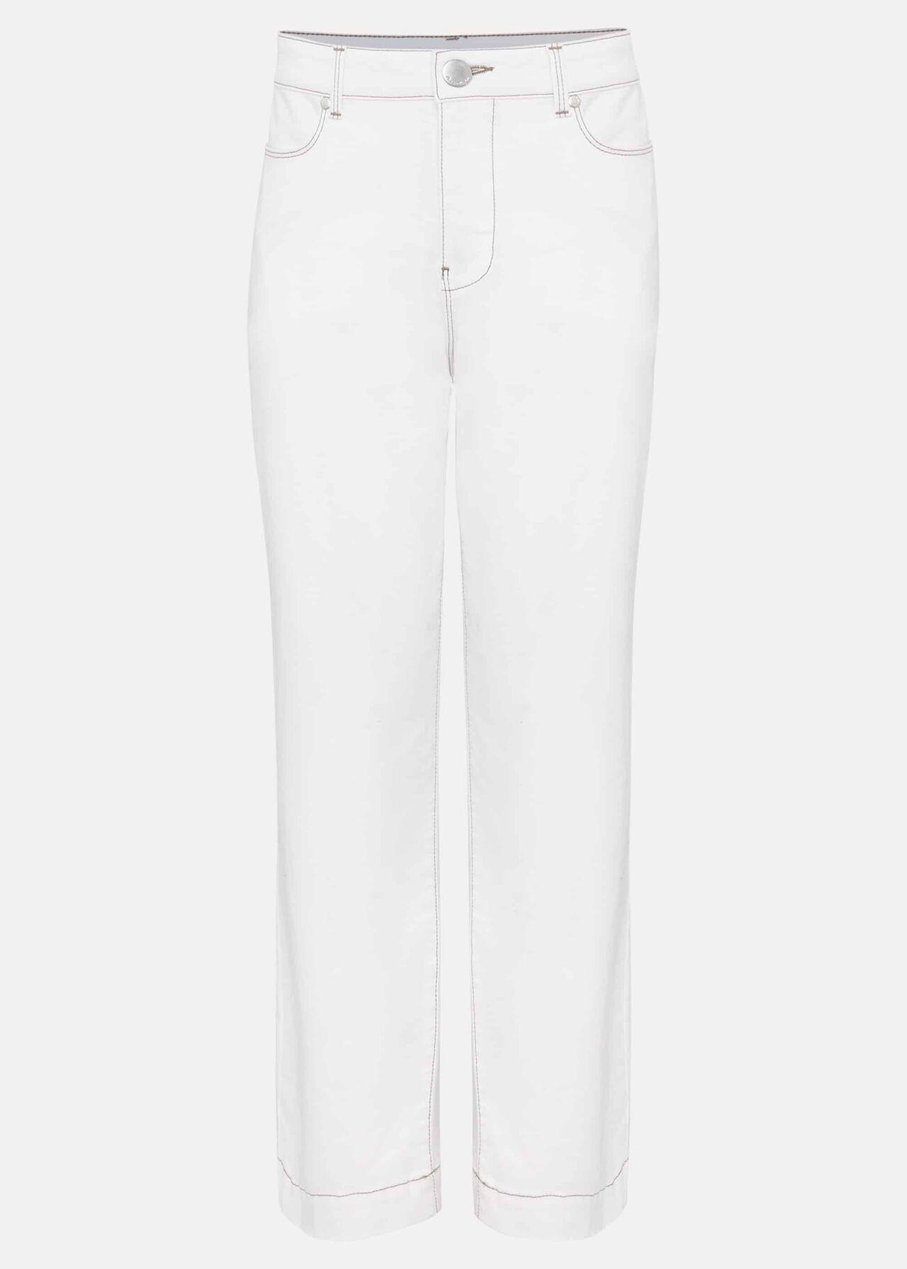 Ramona Cropped Straight Leg Jean