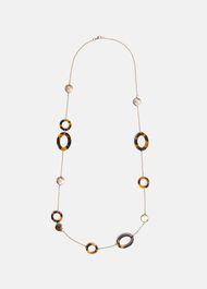 Flora Resin Link Necklace