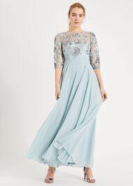 Clarissa Sequin Maxi Dress