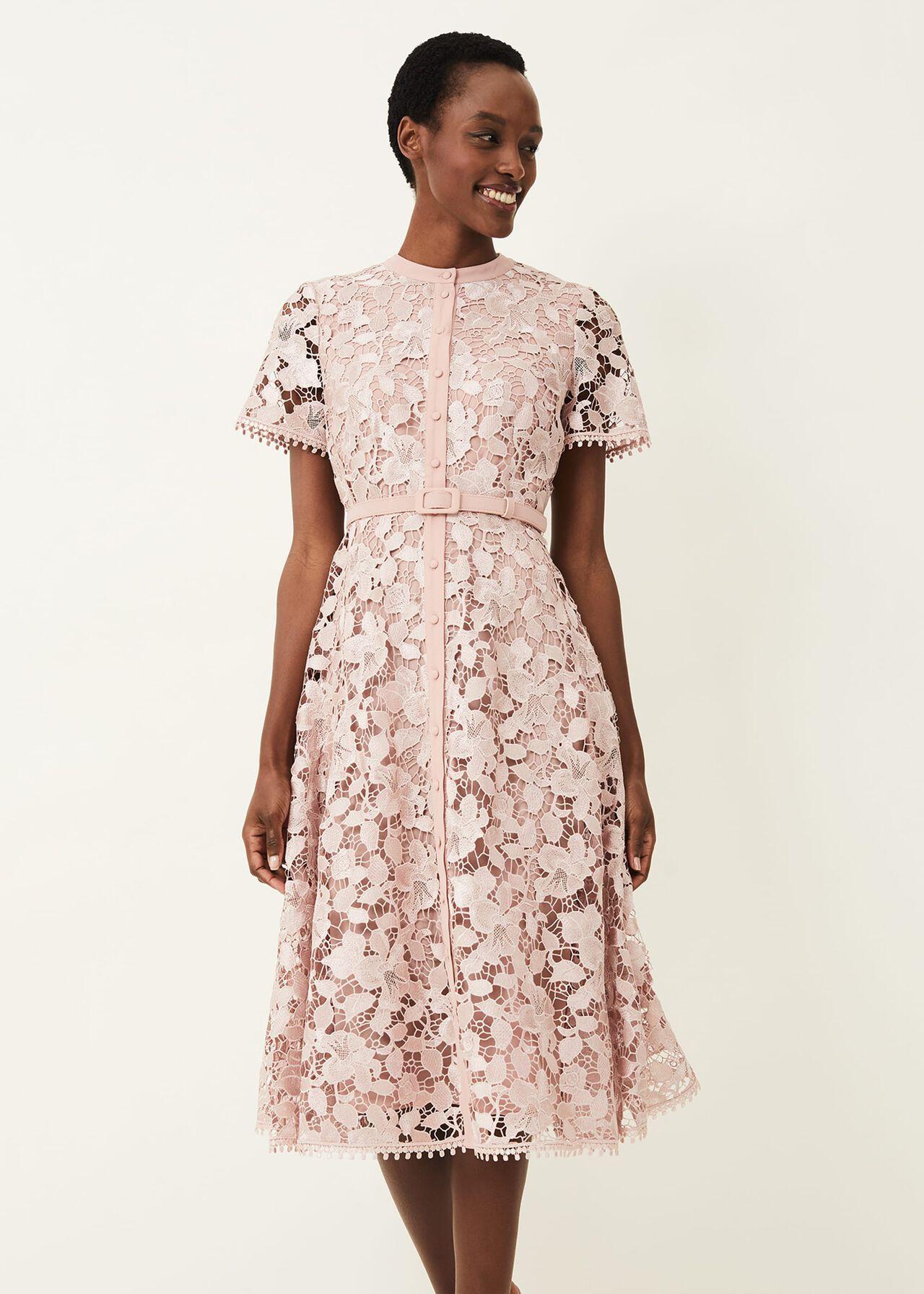 Samana Lace Shirt Dress
