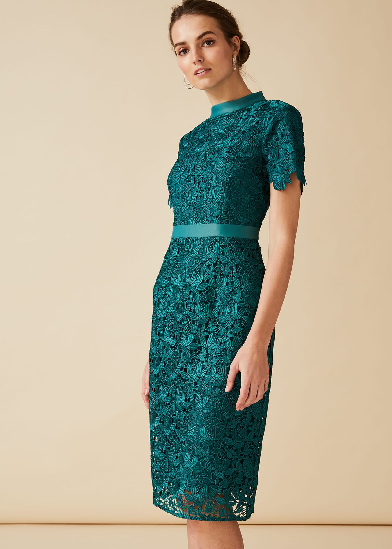 Marietta Guipure Lace Dress
