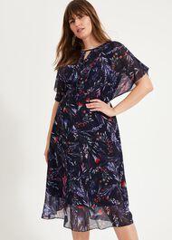 Arabella Printed Dress