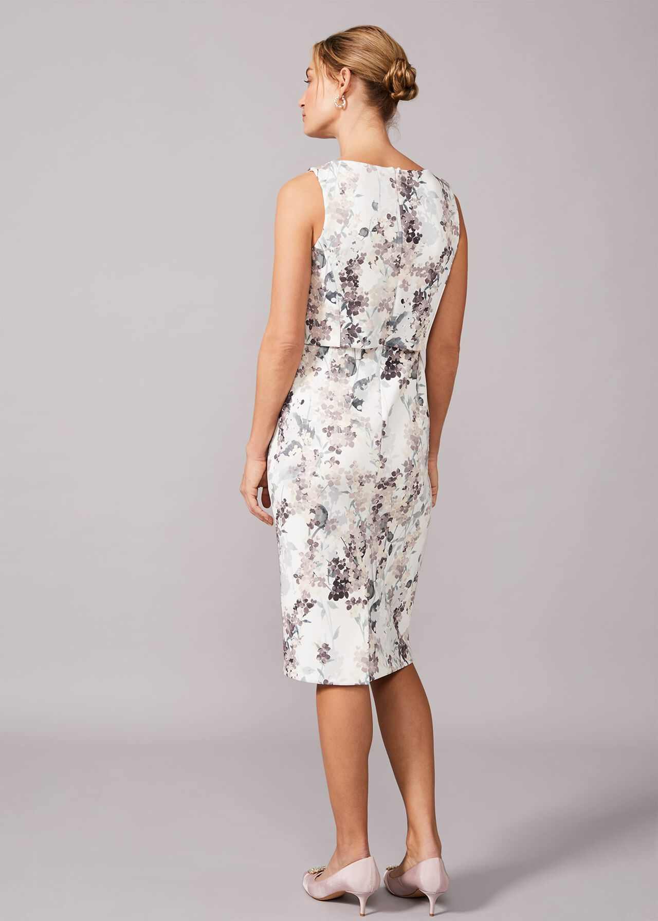 Violetta Double Layered Scuba Dress