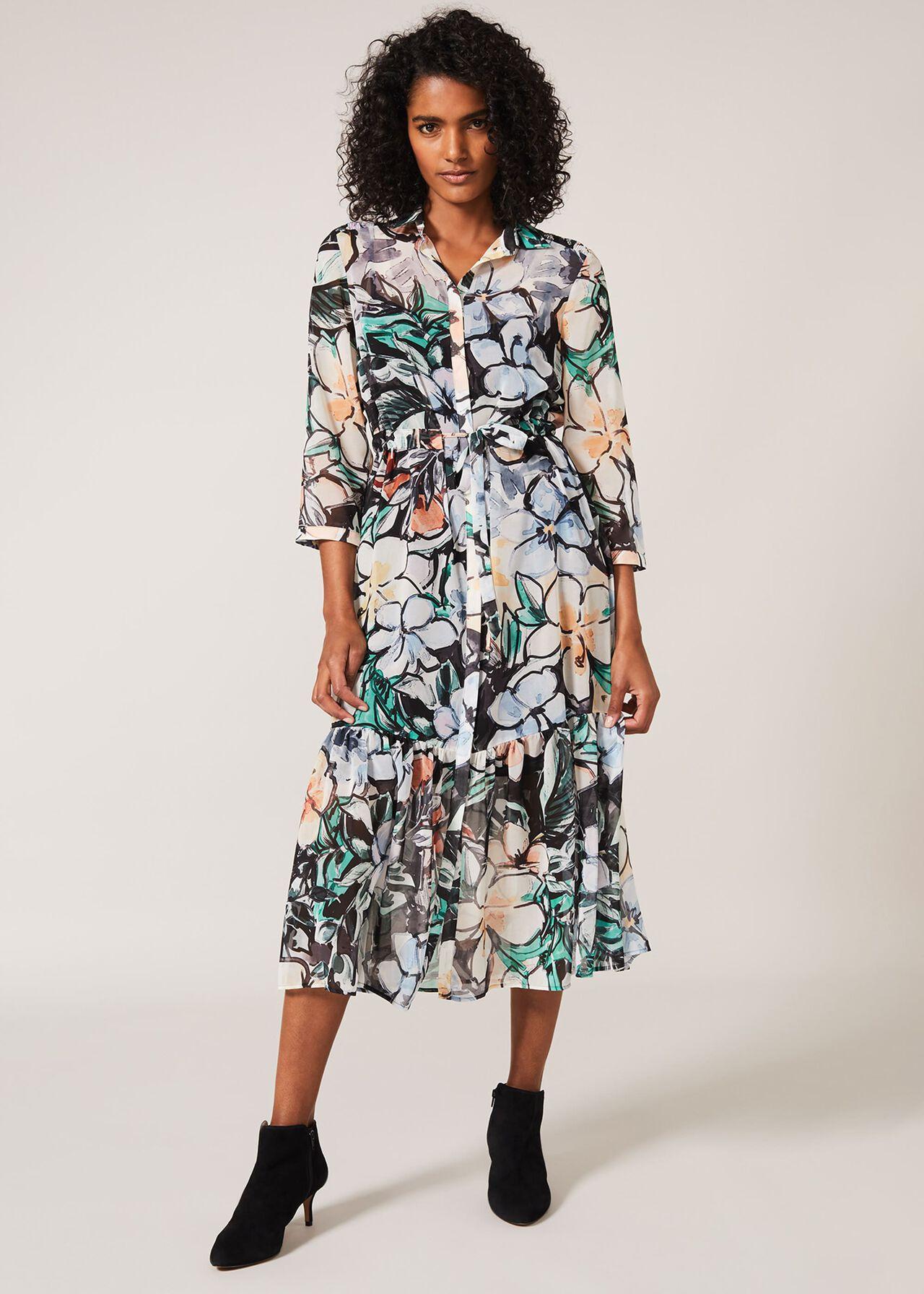 Kerria Floral Shirt Dress