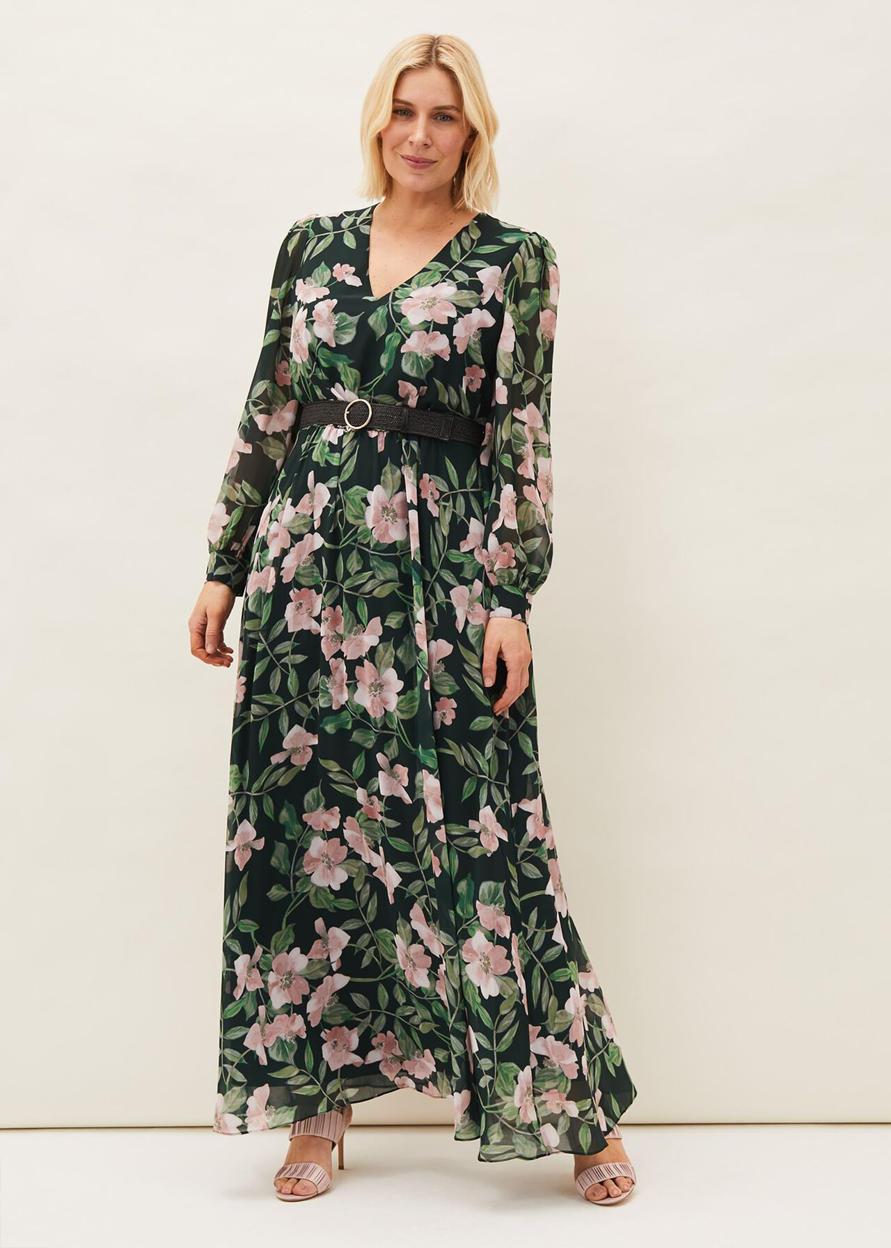 ${product-id}-Hali Floral Belted Maxi Dress--${view-type}