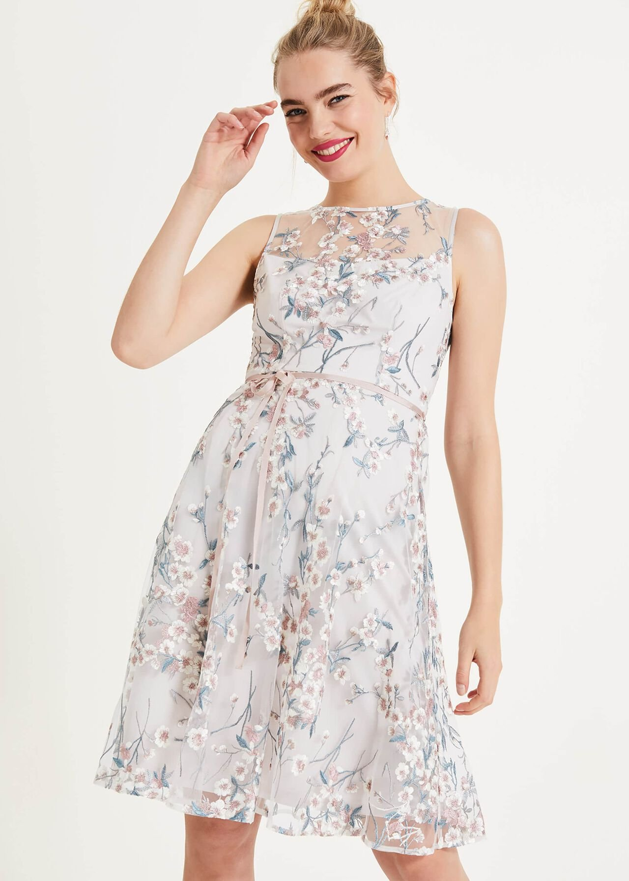 Maddy Embroidered Dress