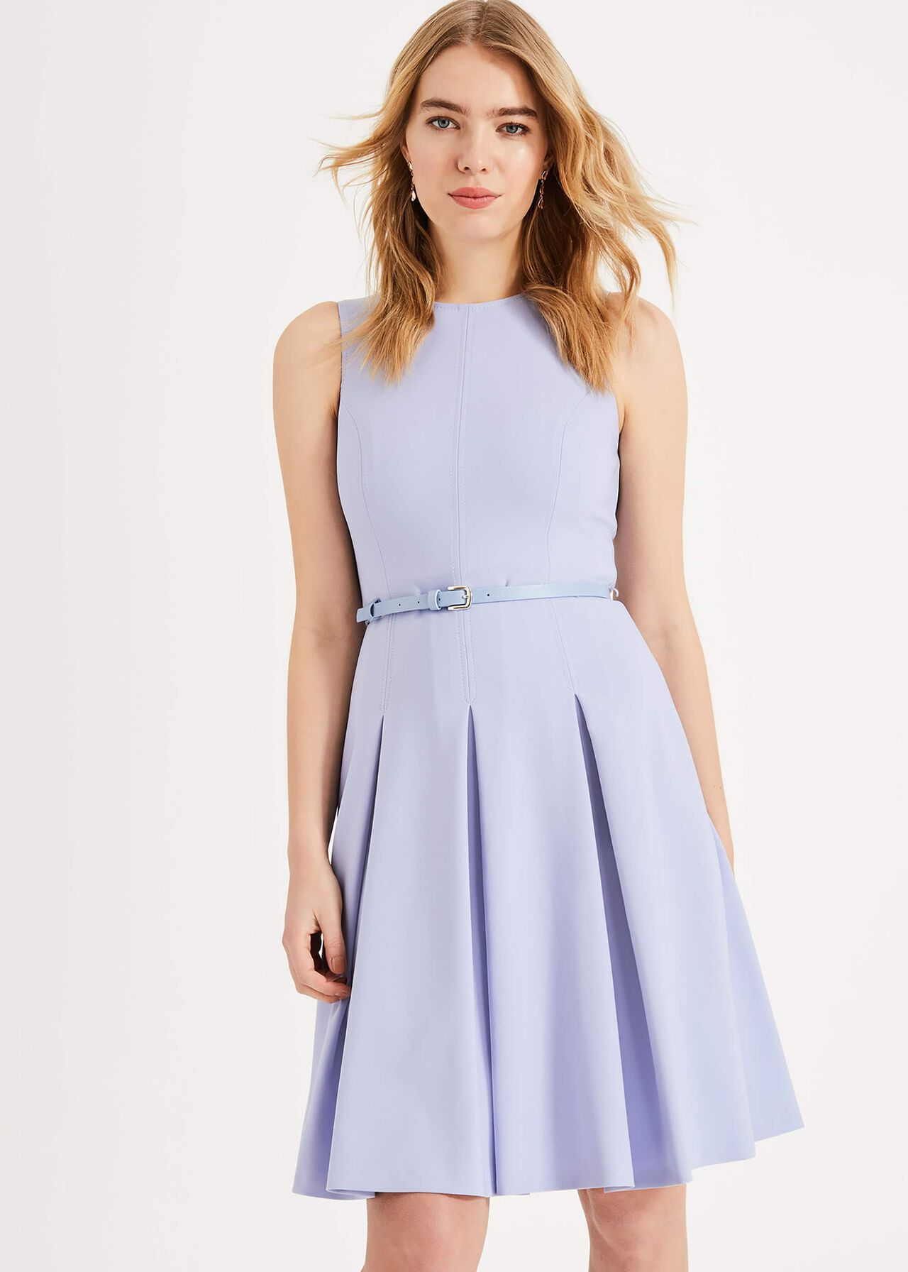 Elidah Belted Dress Phase Eight