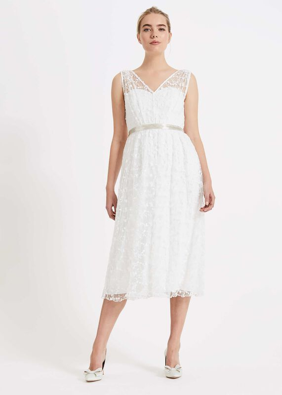 43be4edddca Amalia Embroidered Wedding Dress