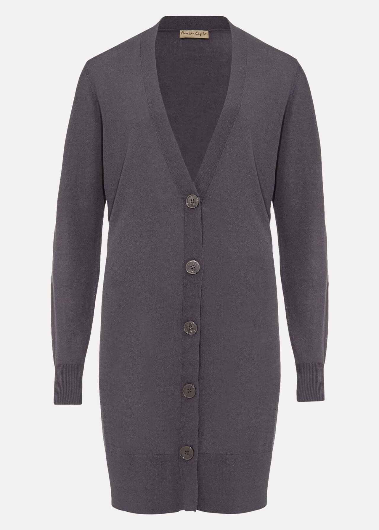 Lalou Longline Button Knit Cardigan