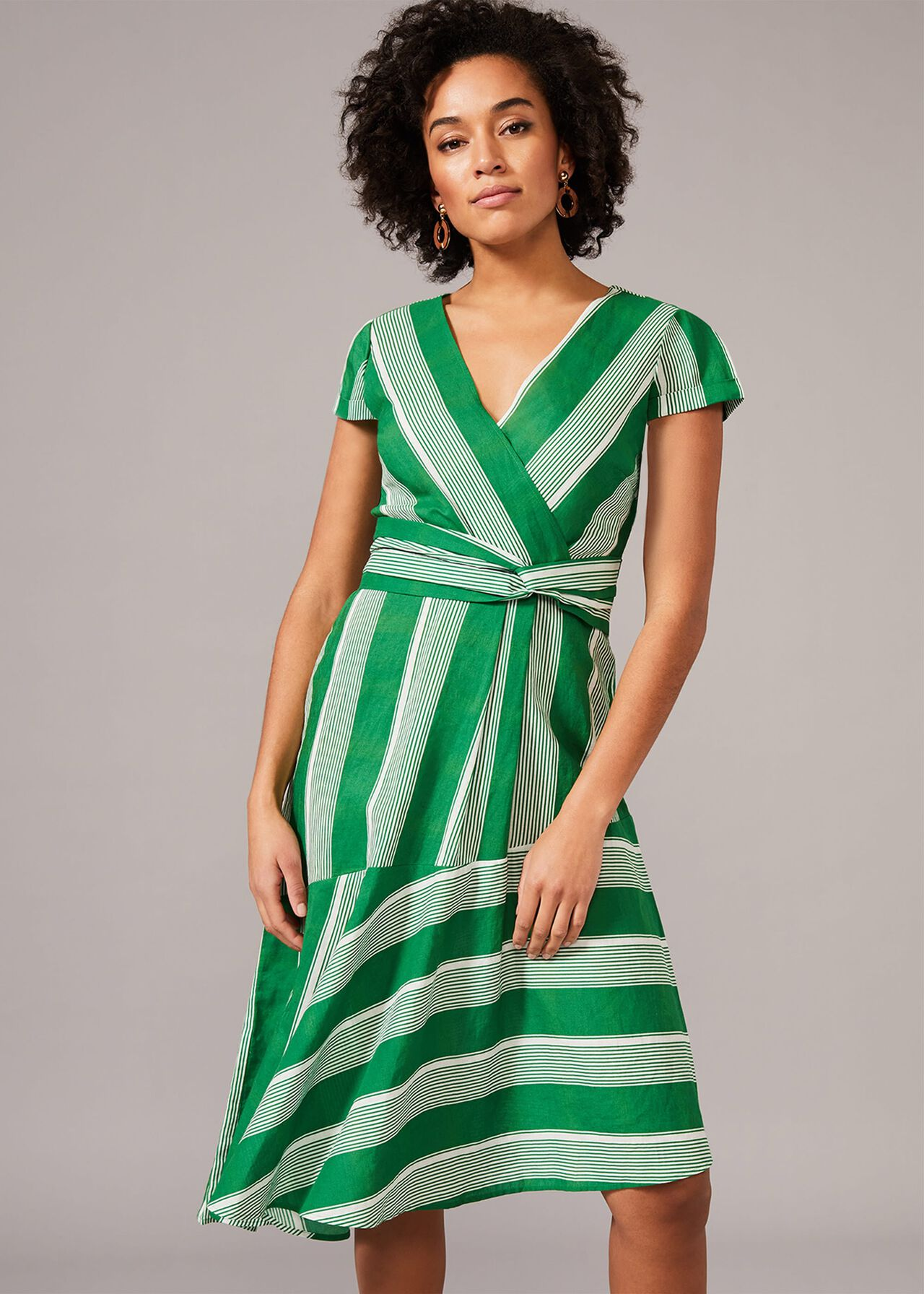Betka Cutabout Stripe Dress