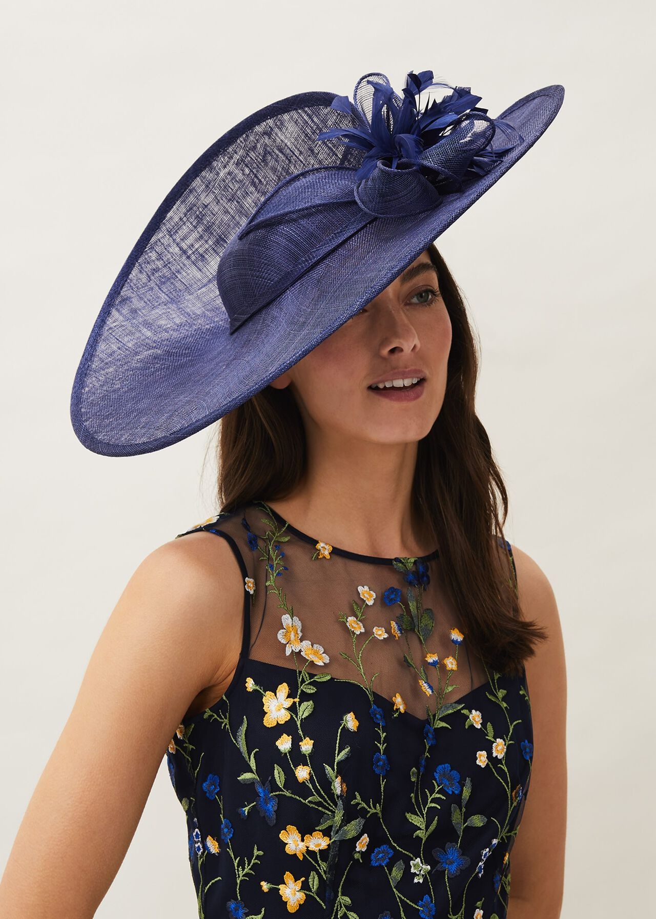 Trudy Large Disc Fascinator