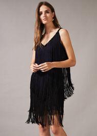 Missy Dip Dye Fringe Dress
