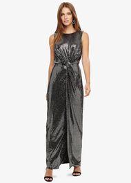 Dahlia Shimmer Twist Maxi Dress