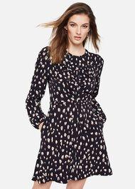 Martha Animal Print Dress