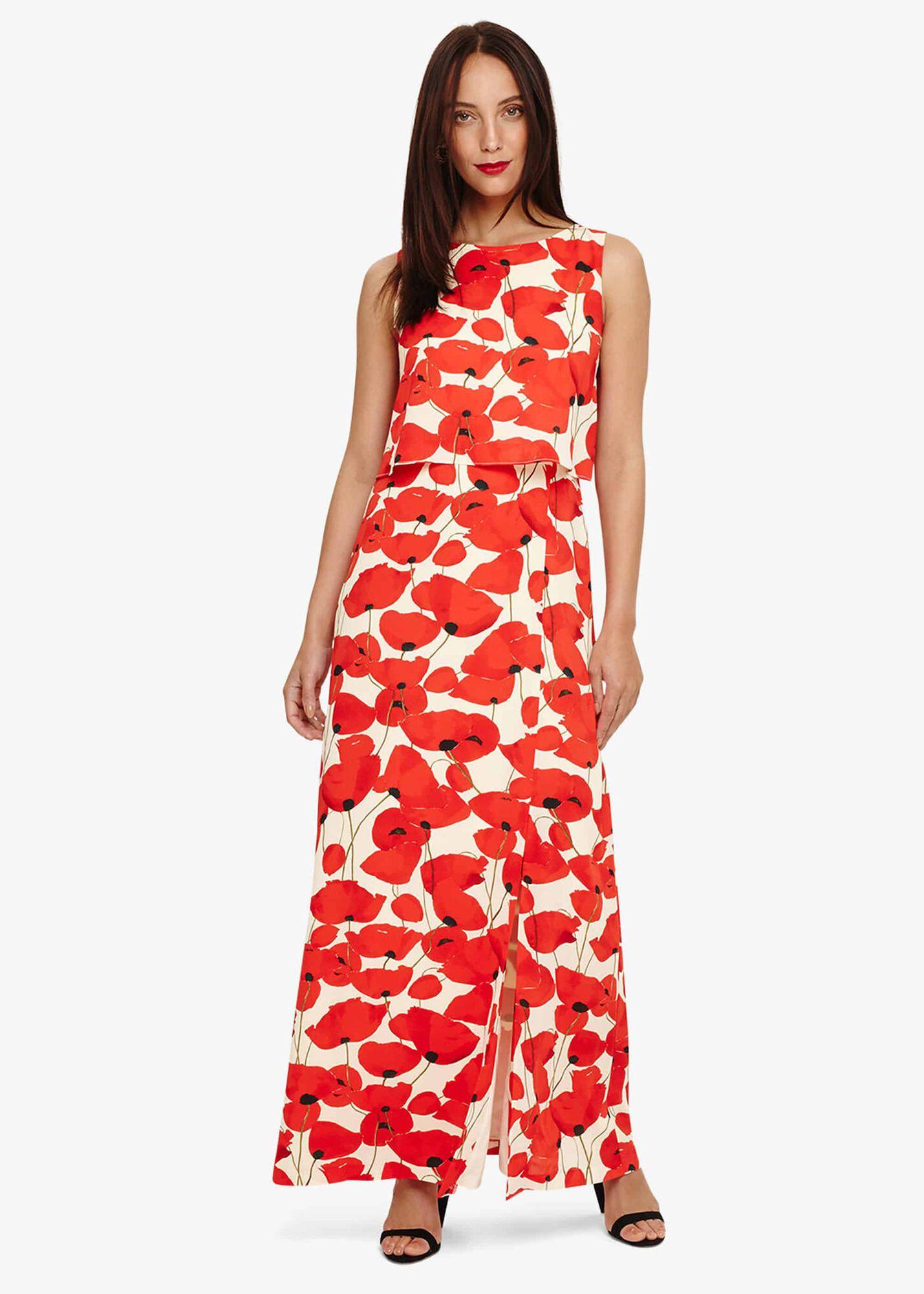 844f9bd13960a Dorothy Poppy Maxi Dress   Phase Eight   Phase Eight