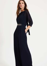 Tiffany Belted Jumpsuit