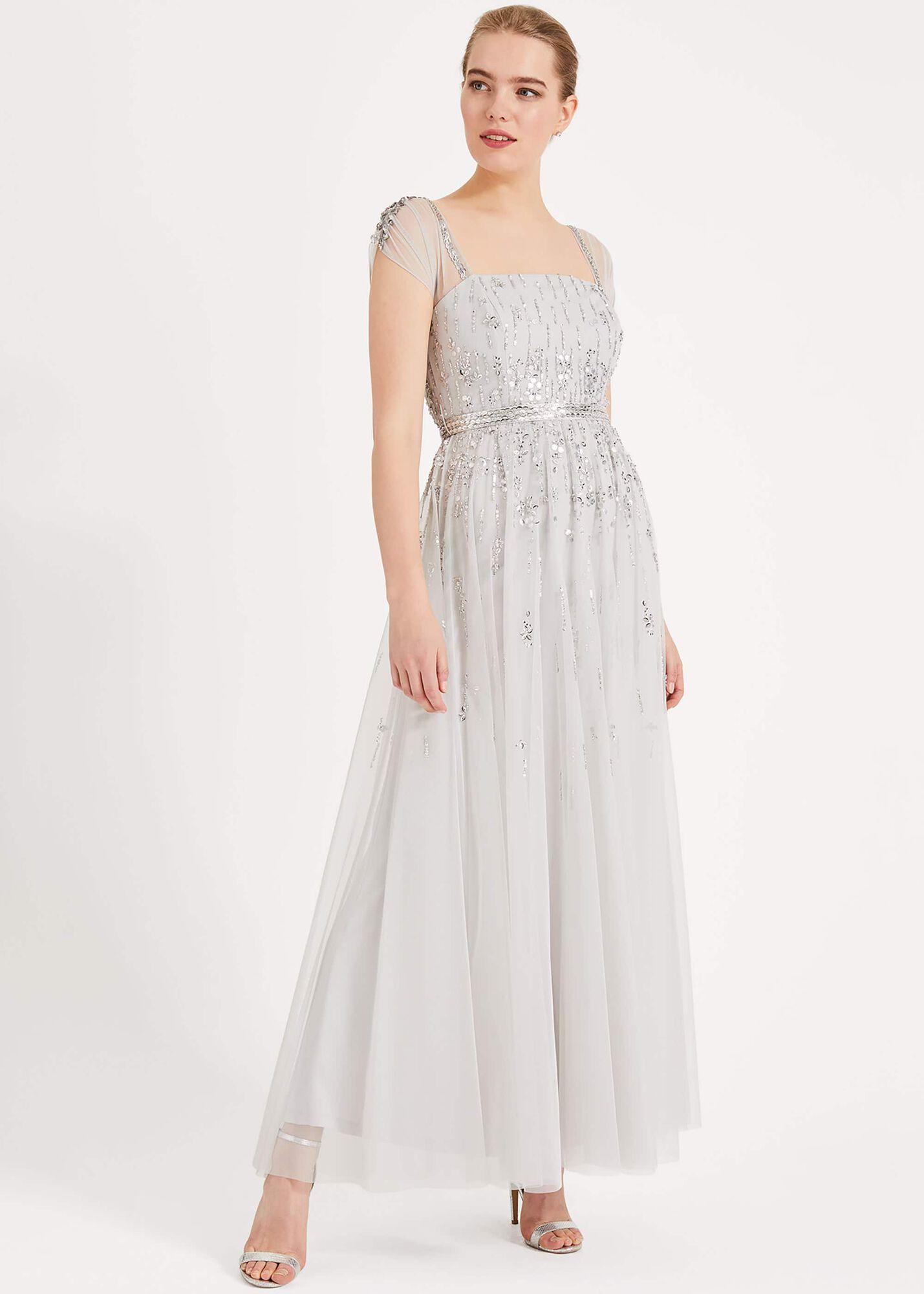 7b9908095c926 Mara Sequin Maxi Dress | Phase Eight | Phase Eight