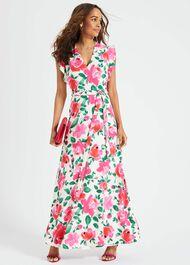 Rosita Printed Maxi Dress