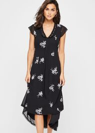 Mirna Embroidered Beaded Dress