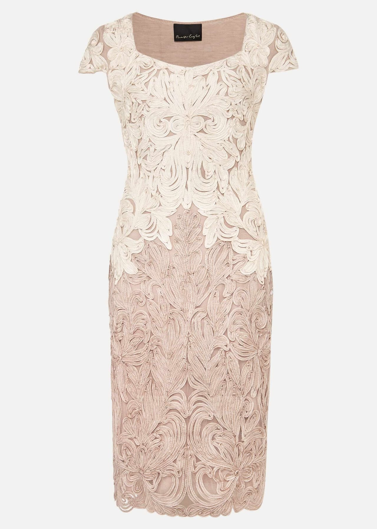 Jennifer Tapework Lace Dress