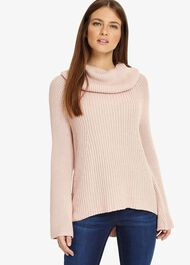 Cateline Cowl Swing Knitted Jumper
