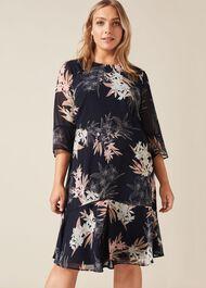 Aimee Printed Dress
