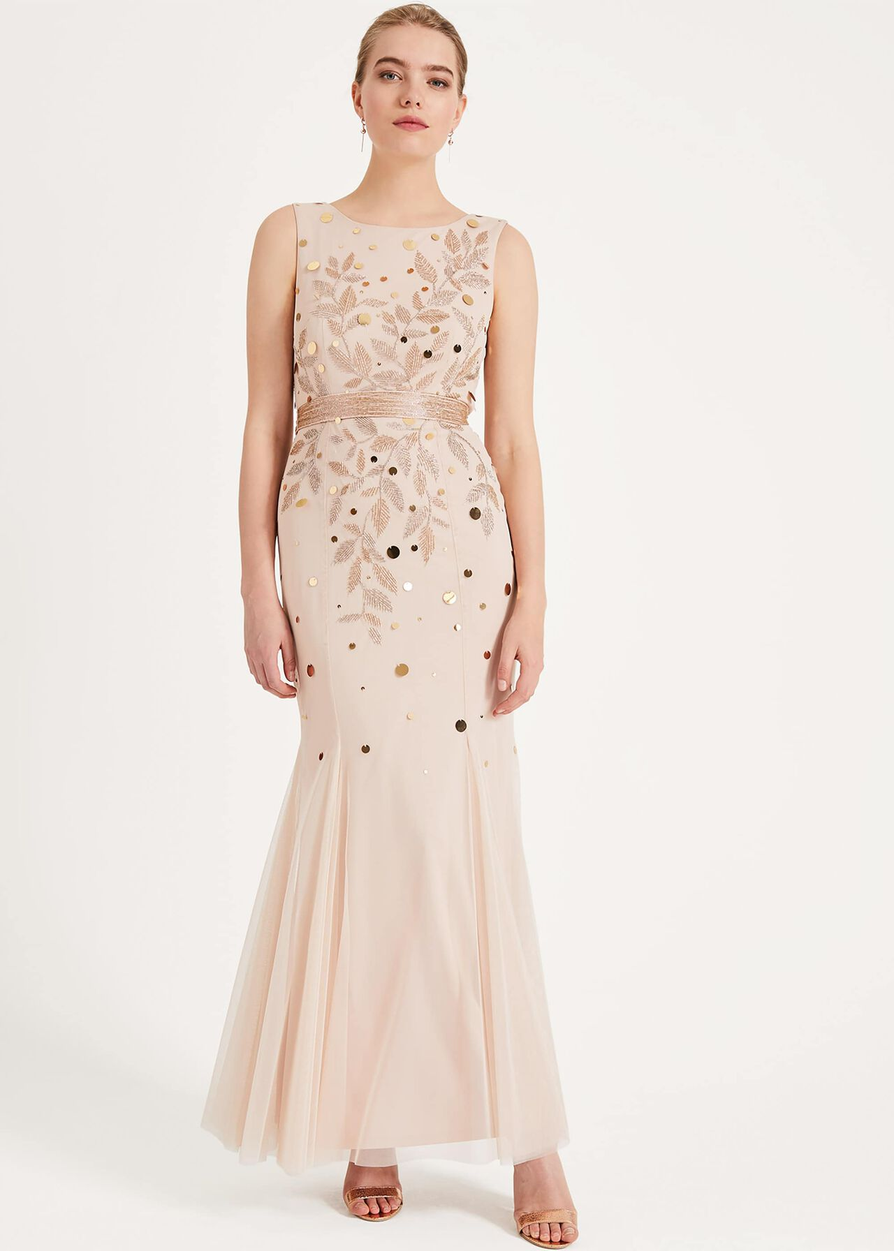 Florence Beaded Maxi Dress