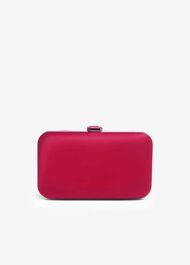Emele Satin Clutch Bag