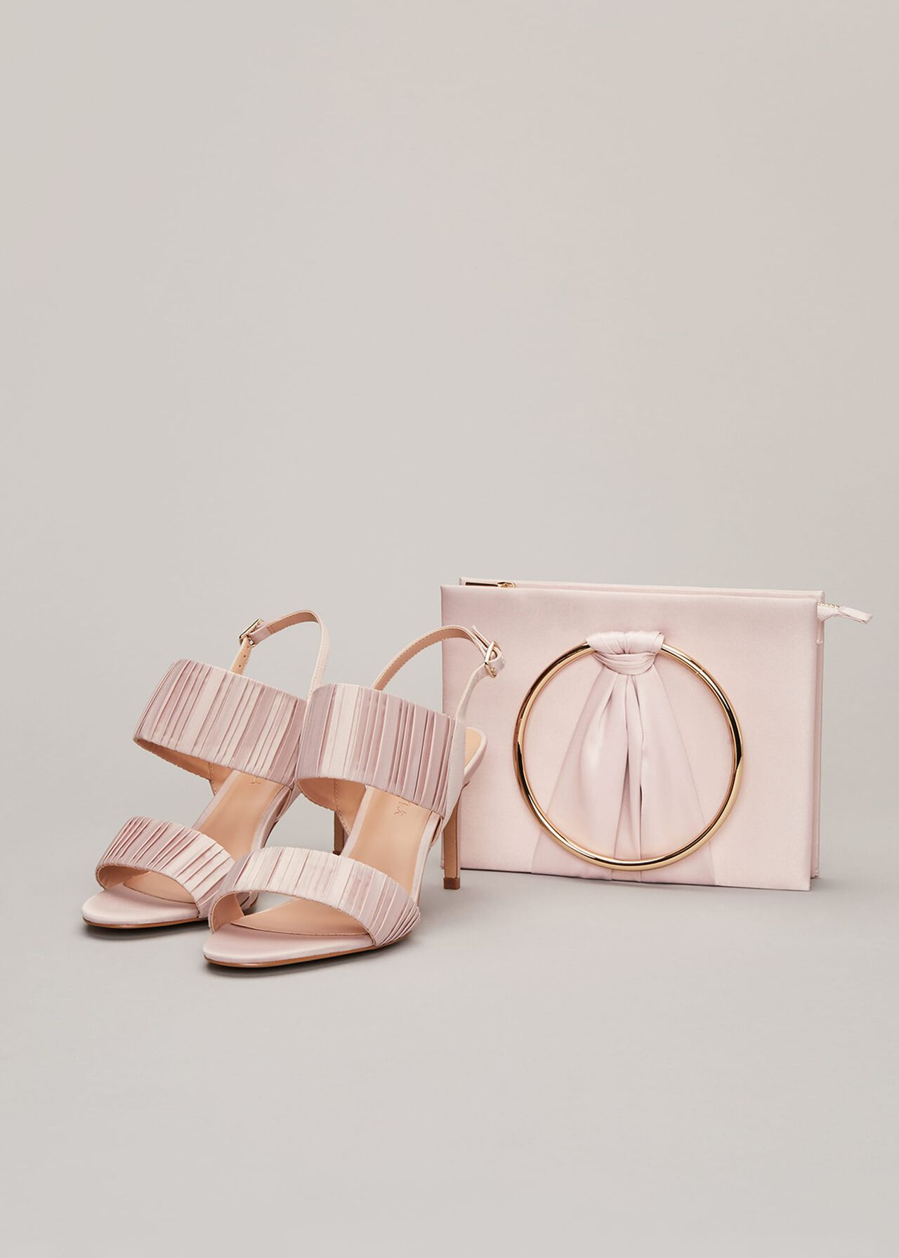 Kitty Pleated Sandal