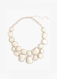 Elsa Geo Shape Collar Necklace