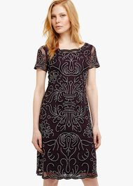 Talia Embroidered Dress