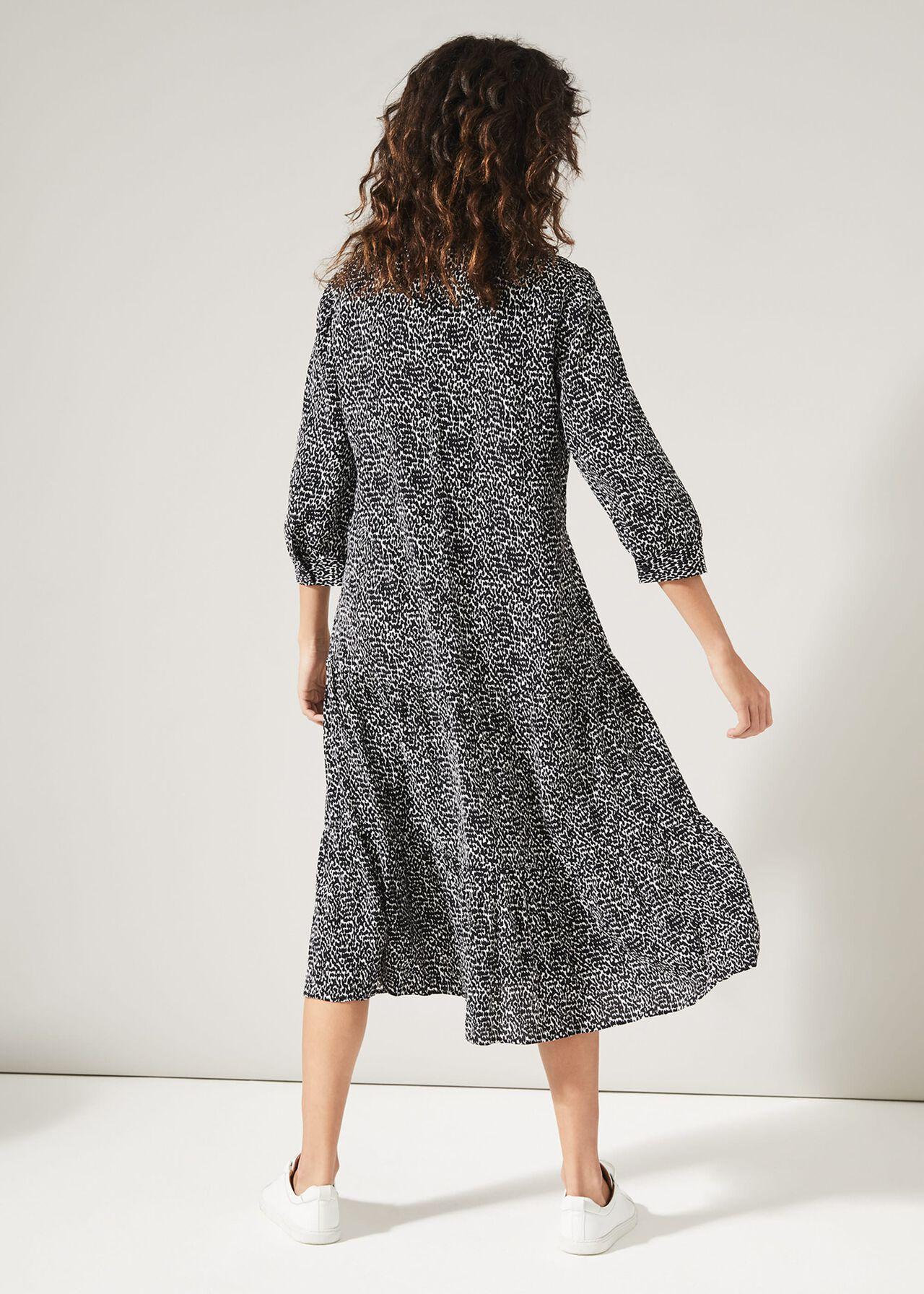 Penele Print Midi Dress
