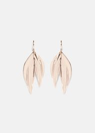 Bryony Double Leaf Drop Earrings
