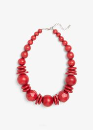 Loretta Irregular Bead Short Necklace