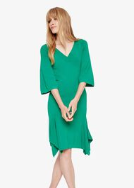 Kristyn V Neck Knit Dress