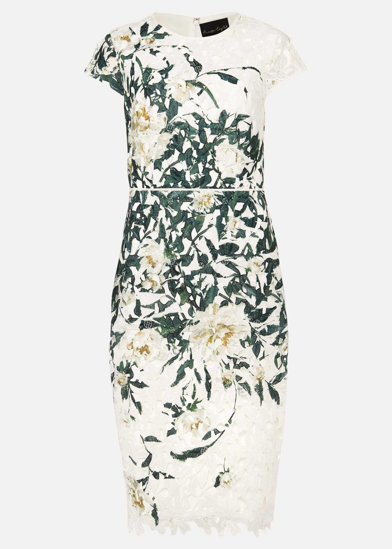 Claudine Floral Lace Dress
