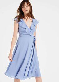 Allegra Wrap Dress