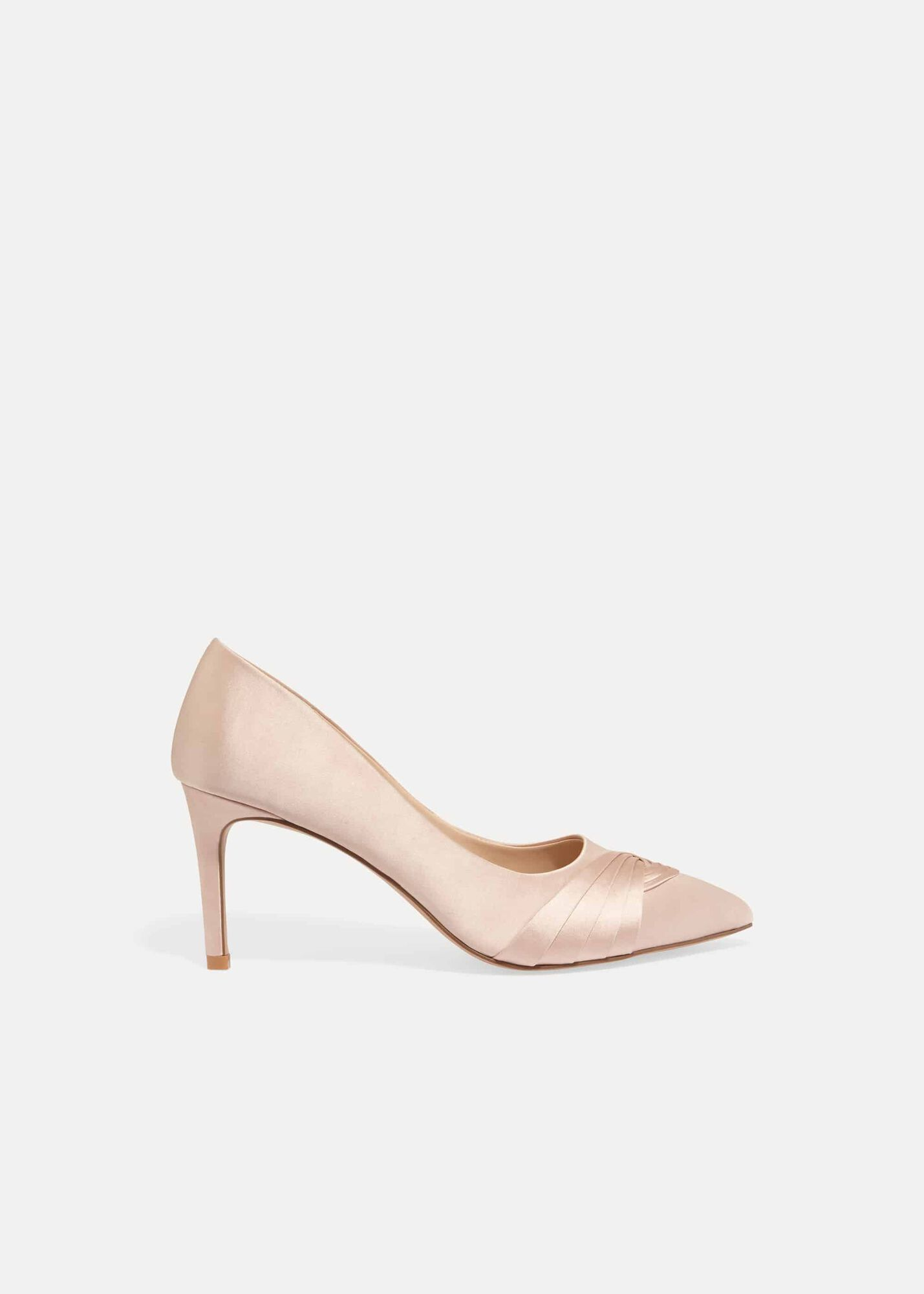 4c900420a6f1 Rosie Satin Court Shoes | Phase Eight | Phase Eight