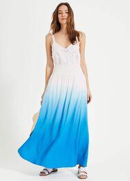Sam Dip Dye Maxi Skirt